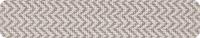 22*0.80 mm yıldız gri chevron pvc bant